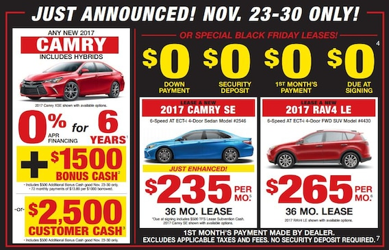 Toyota Black Friday Sales Event West Michigan Toyota Of Muskegon