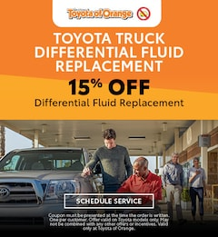 Toyota Truck Differential Fluid Replacement