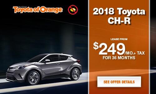 Toyota Of Orange >> 2018 Toyota C Hr Toyota Of Orange