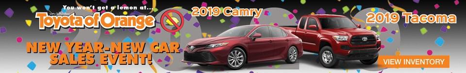 2019 Camry  & Tacoma