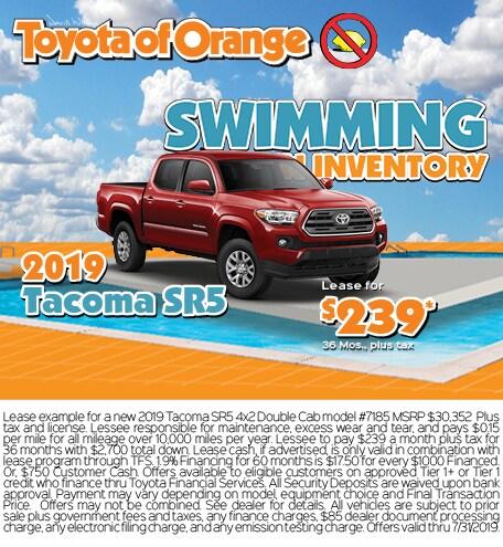 Toyota Of Orange >> New Car Specials Used Car Dealer Serving Tustin Ca Toyota Of Orange