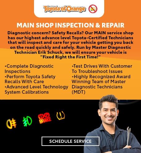 Main Shop Inspection & Repair