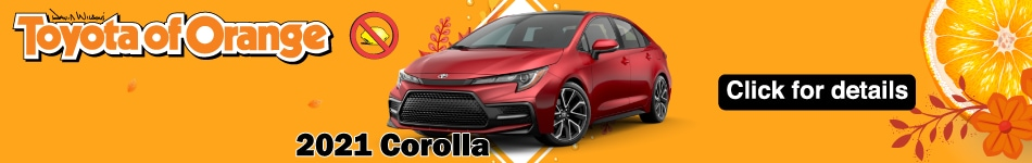 2021 Toyota Corolla lease offer October