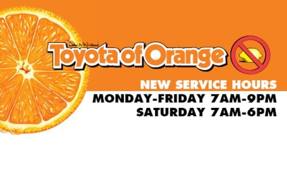 Toyota Of Orange >> Toyota Of Orange Your Trusted Toyota Dealers In Orange