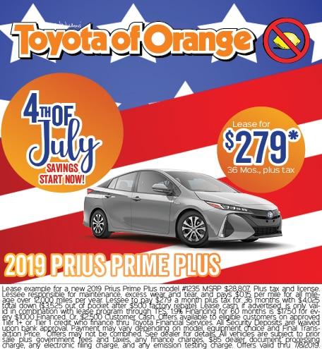 2019 Prius Prime Plus