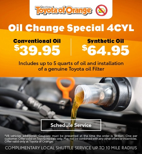 Oil Change Special 4CYL