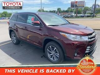 New Toyota 2019 Toyota Highlander XLE SUV in Scranton, PA