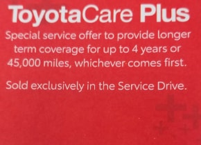 Toyota Care Plus