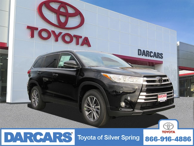 Darcars Silver Spring >> New 2019 Toyota Highlander XLE V6 For Sale in Silver ...