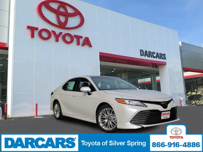New 2018 Toyota Camry XLE V6 Sedan in Silver Spring, MD