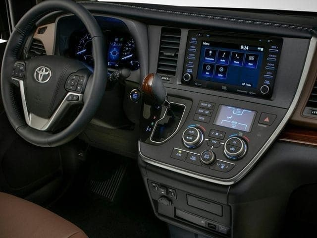 2020 Toyota Sienna Driver Console
