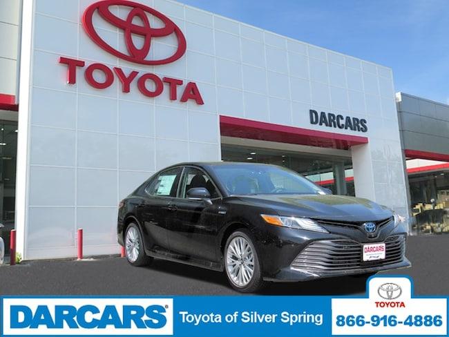 New 2018 Toyota Camry Hybrid XLE Sedan in Silver Spring, MD