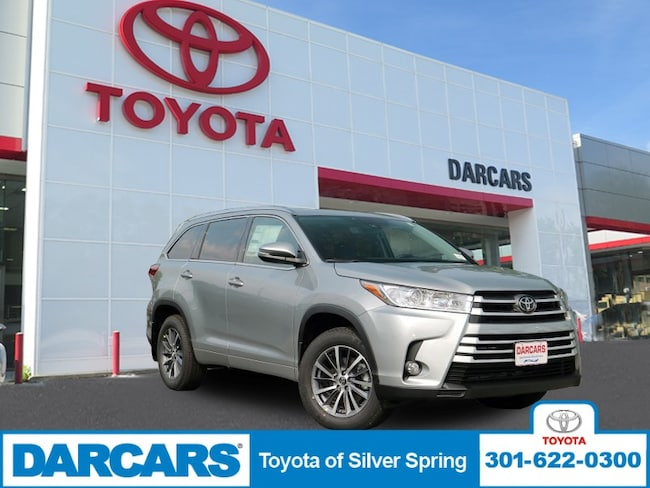 New 2017 Toyota Highlander XLE V6 SUV in Silver Spring, MD