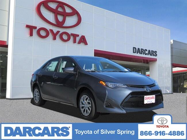 New 2019 Toyota Corolla LE Sedan in Silver Spring, MD