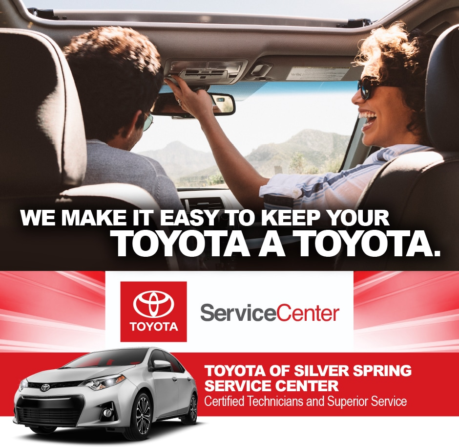 Toyota Service & Repair: DARCARS Toyota Silver Spring