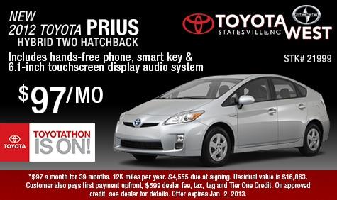 Good New 2012 Toyota Prius