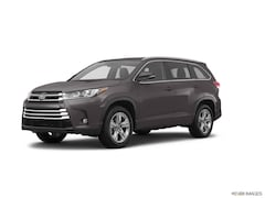 New 2018 Toyota Highlander Limited V6 SUV