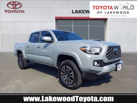 Featured used 2021 Toyota Tacoma TRD Sport V6 Truck Double Cab MX259613 for sale in Newton, NJ