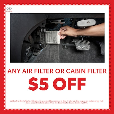 Any Air Filter or Cabin Filter