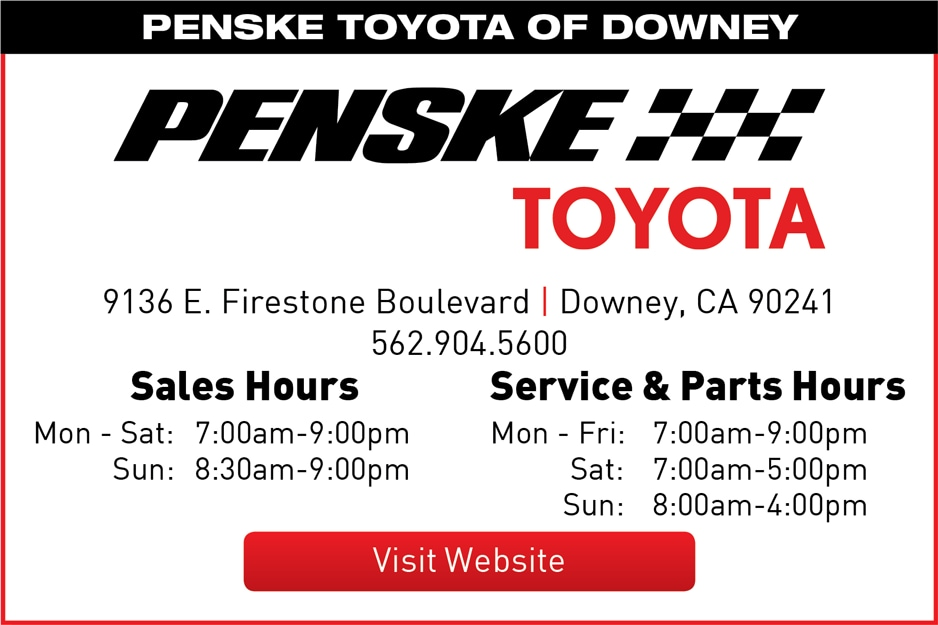 penske toyota new toyota dealerships serving downey and west covina ca. Black Bedroom Furniture Sets. Home Design Ideas