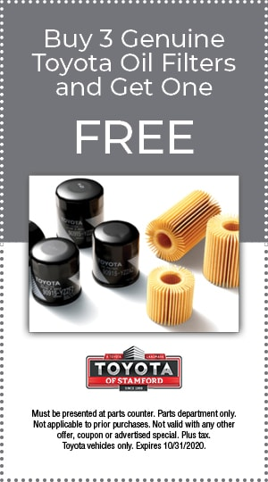 BUY 3 GENUINE TOYOTA OIL FILTERS AND GET ONE FREE