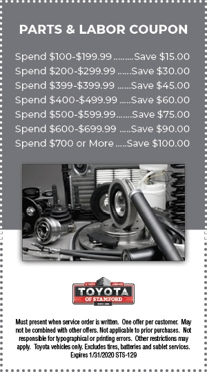 PARTS AND LABOR COUPON