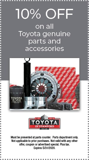 GENUINE TOYOTA PARTS AND ACCESSORIES