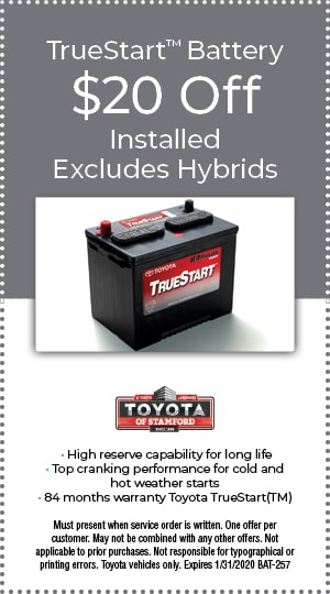 $20.00 OFF BATTERY