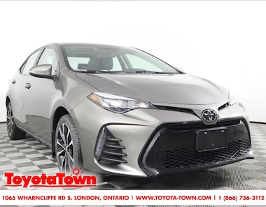 2019 Toyota Corolla SE MOONROOF ALLOYS SAFETY SENSE P Sedan