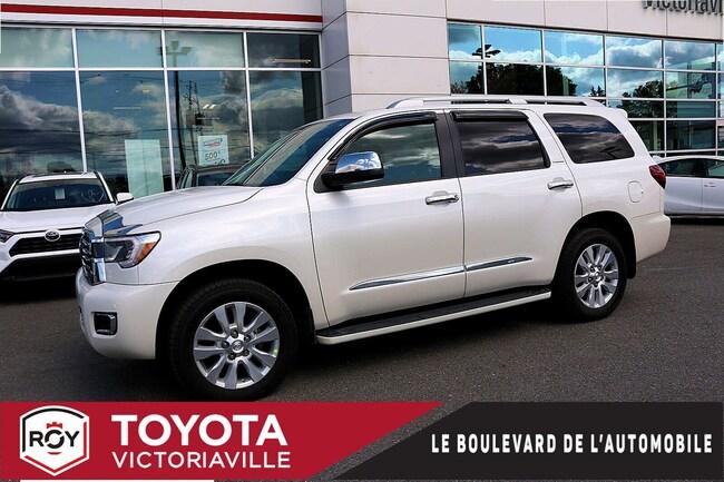 2018 Toyota Sequoia Platinum AWD  GPS CUIR TV PEA 140000 Km...... VUS