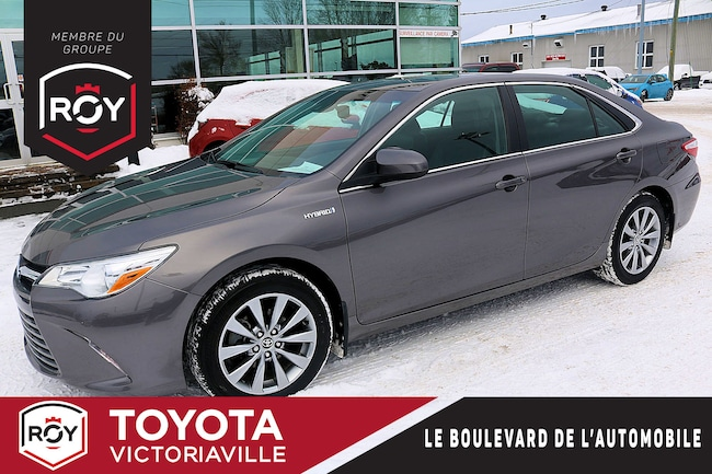 2017 Toyota Camry Hybride XLE GPS Cuir Toit ouvrant... Berline