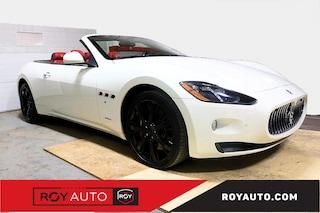 2013 Maserati GranTurismo Bianco Rosso Corallo Décapotable ou cabriolet