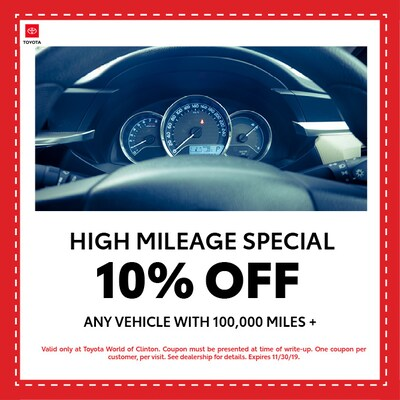 High Mileage Discount