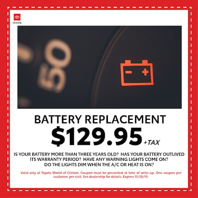 Battery Replacement