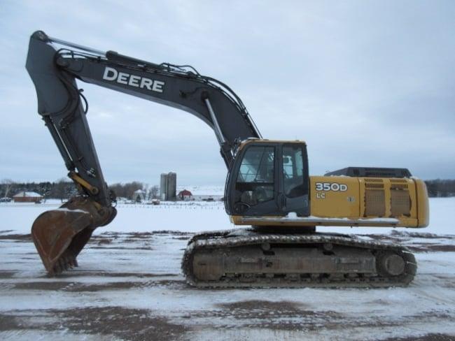 2007 DEERE 350D Excavatrice Pelle Mécanique