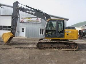 2009 DEERE 120D Excavatrice Pelle Mécanique