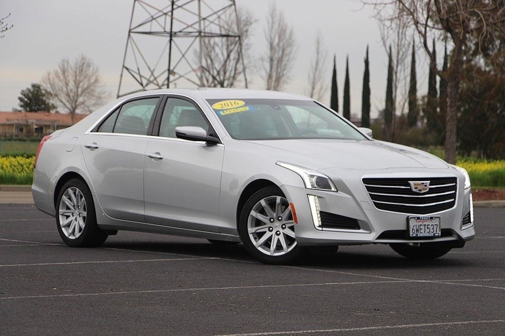 Used 2016 Cadillac Cts For Sale Tracy Chevrolet Ca Vin