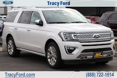 New 2019 Ford Expedition Max Platinum SUV for sale in Tracy, CA