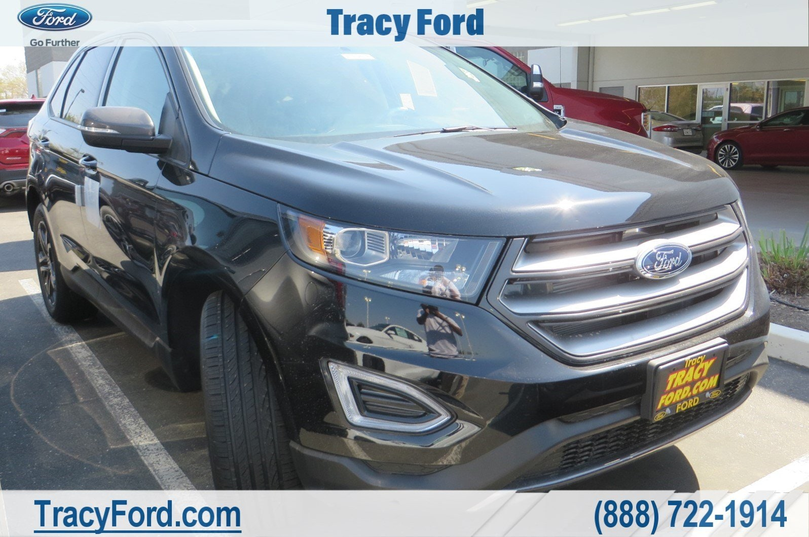 Ford Edge Sel Suv V  Cyl In Tracy Ca