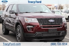 New 2019 Ford Explorer Sport SUV for sale in Tracy, CA