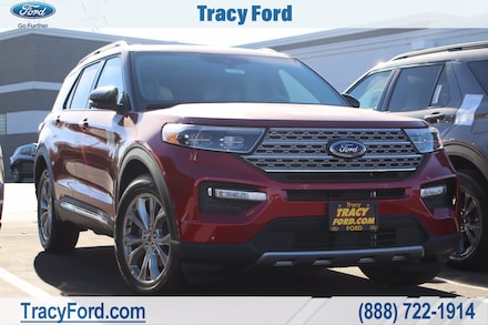 Featured New 2021 Ford Explorer Limited SUV for Sale in Tracy, CA