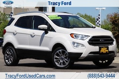 Used 2018 Ford EcoSport Titanium SUV for sale in Tracy, CA