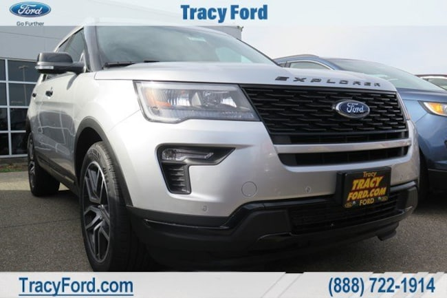 New 2018 Ford Explorer Sport SUV for sale in Tracy, CA
