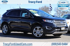 Certified Pre-Owned 2018 Ford Edge Titanium SUV 2FMPK3K92JBB42061 For Sale In Tracy, CA