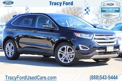 Certified Pre-Owned 2018 Ford Edge Titanium SUV 2FMPK3K90JBB75401 For Sale In Tracy, CA