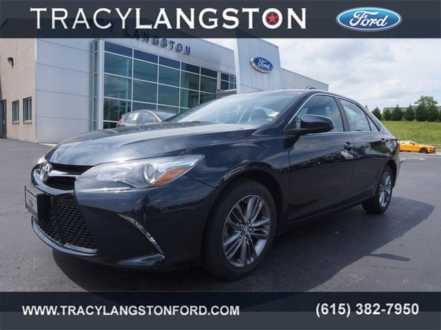 Used 2016 Toyota Camry SE Sedan For Sale in Springfield, TN