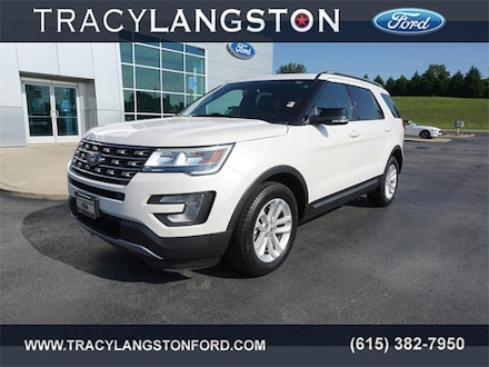 Used 2017 Ford Explorer XLT SUV For Sale in Springfield, TN