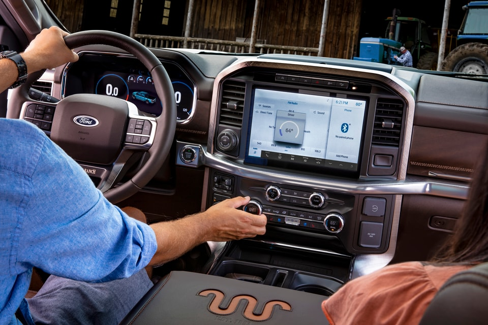 New Ford F-150 Interior