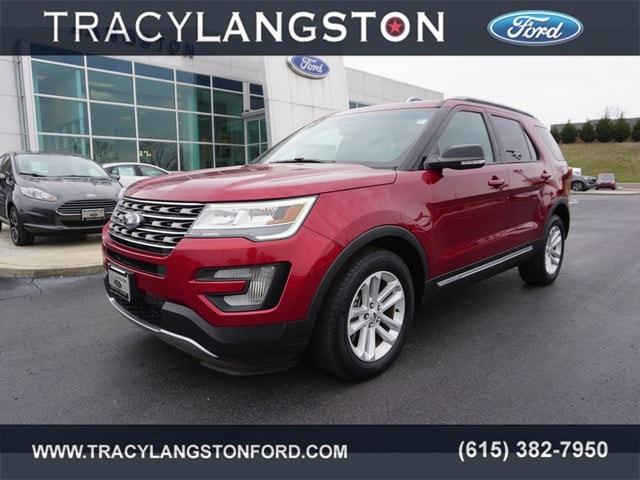 Used 2016 Ford Explorer XLT SUV For Sale in Springfield, TN