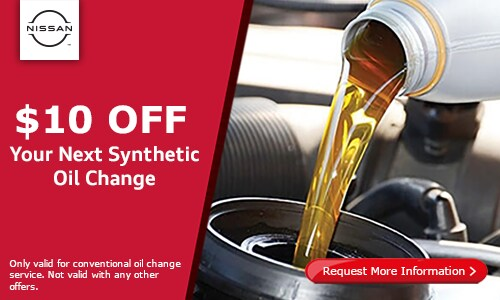 $10 off your synthetic oil change